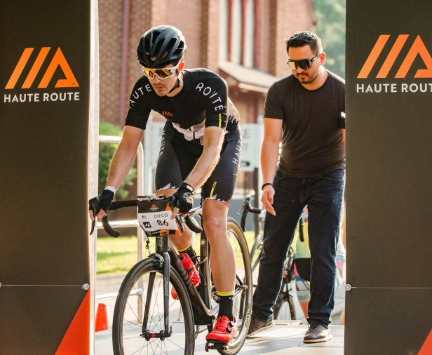haute route cycling gran fondo race