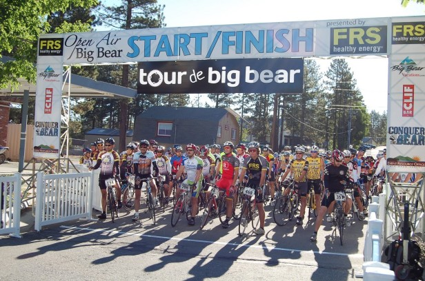 cycling gran fondo radio shack california race